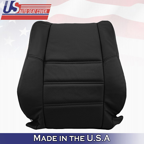 2001-2004 Passenger Top BLACK Perforated Leather Cover Nissan Pathfinder