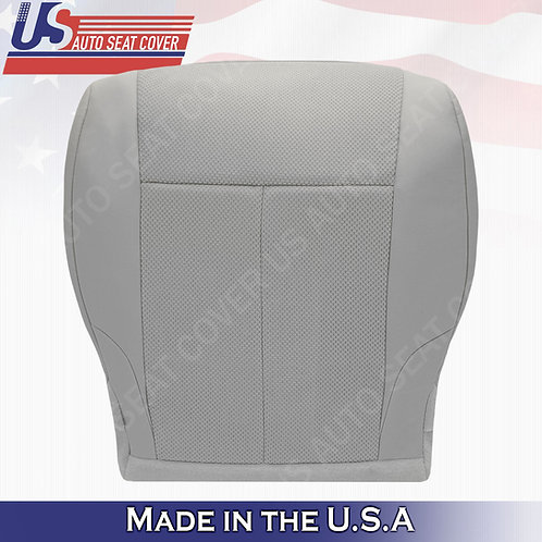 For 2007-2012 Nissan Altima Passenger bottom cloth seat cover Gray