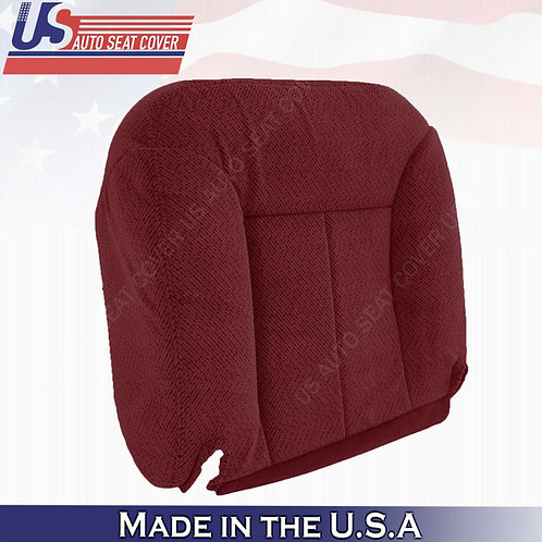 1995 -1999 GMC Yukon Passenger Bottom Cloth Seat Cover Ruby Red