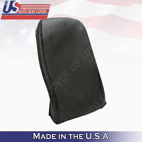 2003-2006 GMC/CHEVY Jump Seat Top Synthetic Leather Cover Dark Gray