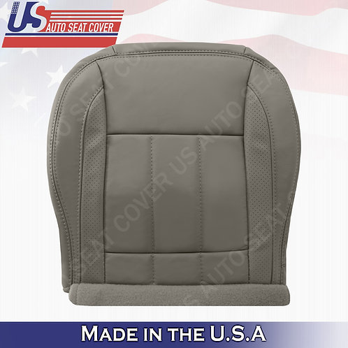 2006-2009 Dodge Ram Laramie 1500 Driver Bottom Leather Seat Cover in Khaki