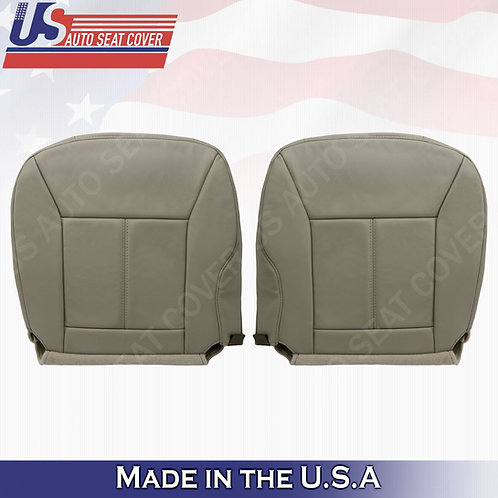 2006 - 2013 Chevy Impala Driver & Passenger Bottom Leather seat Cover TAN