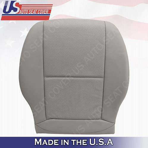 Fits 2008-2014 Mercedes Benz GLK300 SPORT Passenger Bottom Leather Cover GRAY