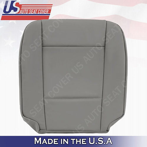 FITS 2002-2006 BMW 5 Series Passenger Bottom Leather Seat Cover Gray