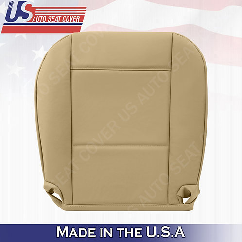 For 1999 to 2006 BMW 325I 350I Driver Bottom Leather Seat Cover Tan
