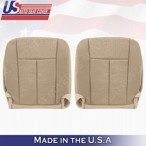 2007- 2014 Ford Expedition Driver & Passenger Bottom seat over in camel cloth