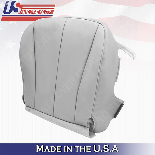 For 2007-2011 Toyota Camry Driver Bottom Leatherette Seat Cover Gray