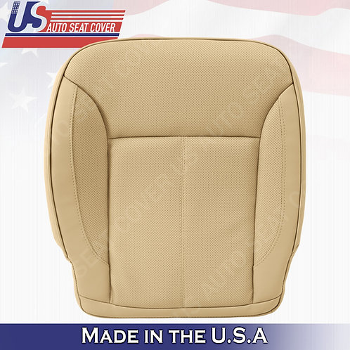 For 2007-2012 Mercedes Benz GL450 Driver Bottom Perforated Leather Cover Tan