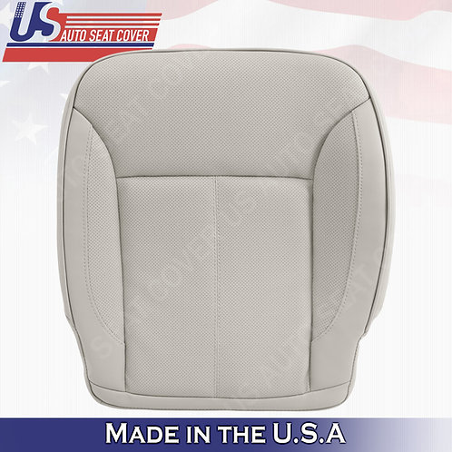 For 2007-2012 Mercedes Benz GL450 Passenger Bottom Perforated Leather Cover Gray