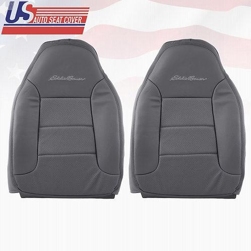 1992-1996 Ford Bronco Eddie Bauer Top Lean Back Seat Cover Dark Graphite