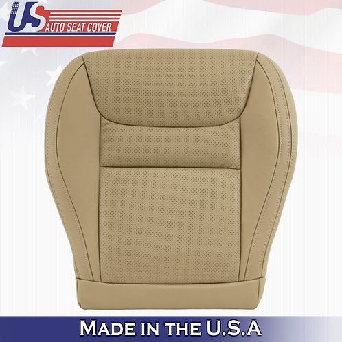 2001-2003 Toyota Highlander Driver Bottom Perforated Leather Tan