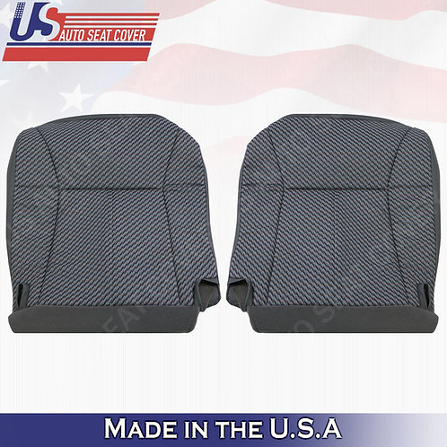 1998-2002 Dodge Ram 1500 2500 3500 WT BOTTOMS Cloth Seat Cover Dark gray
