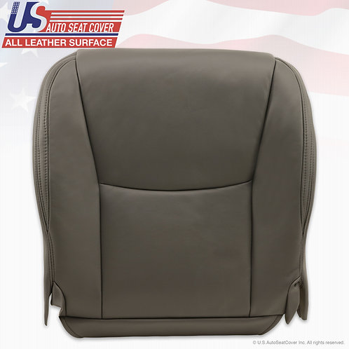 Driver Bottom Leather Seat Cover Gray For 2003-2009 Lexus GX470