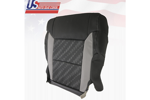 For 2014-2020 Toyota Tundra Passenger Bottom Cloth Seat Cover Black