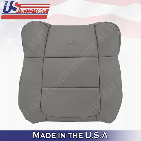 2001-2003 Ford F150 Lariat PASSENGER Top leather Cover Gray