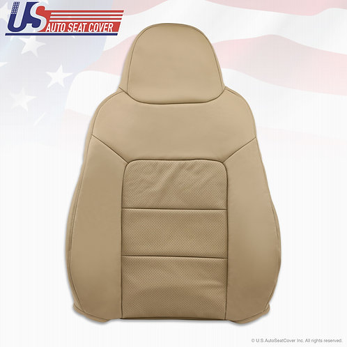 2003-2006 Ford Expedition Limited Pasenger top Perforated Leather Seat Cover Tan