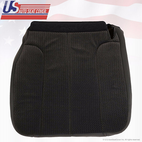 2002-2005 Dodge Ram 1500-SLT Passenger Bottom Replacement Cloth Seat Cover Black