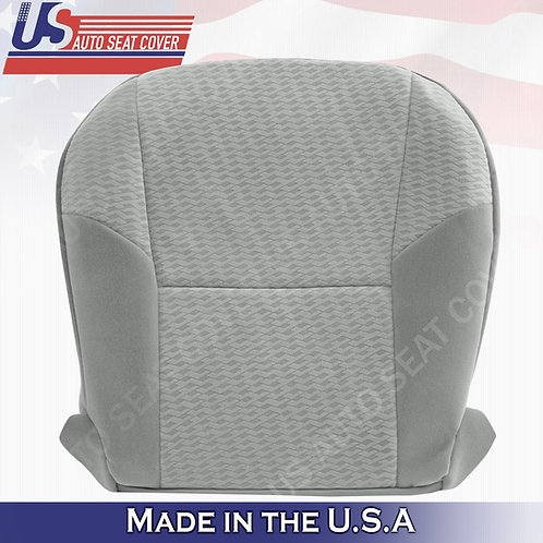 Fits 2009-2011 Toyota Tacoma Passenger Bottom Cloth Seat cover gray