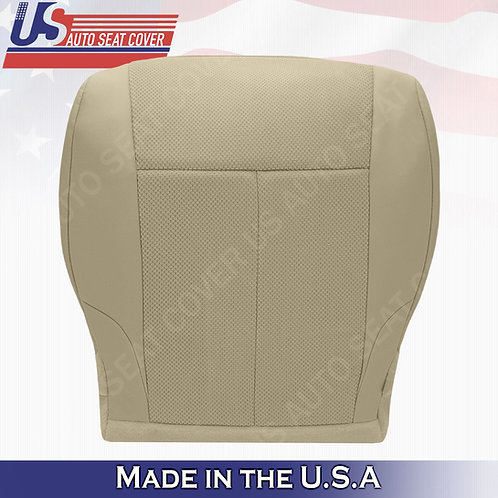 For 2007-2012 Nissan Altima Driver bottom cloth seat cover Blond Tan