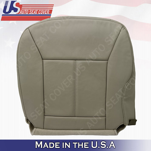 2006 - 2013 Chevy Impala Driver Bottom Leather seat Cover Tan