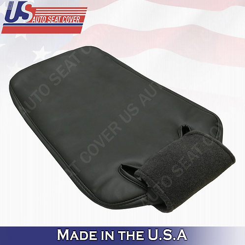 2003-2006 GMC/CHEVY Jump Seat Bottom Synthetic Leather Cover Dark Gray