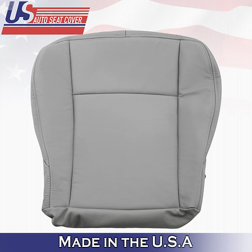 "2004 2005 Cadillac CTS Front DRIVER Side Bottom Leather Seat Cover In ""Gray"""