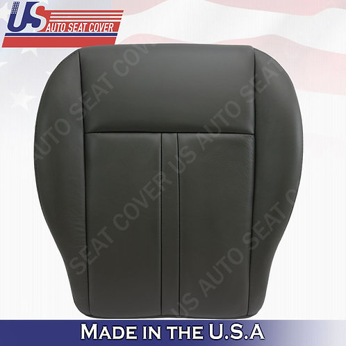 2005-2007 Jeep Grand Cherokee Passenger  Bottom Leather cover black