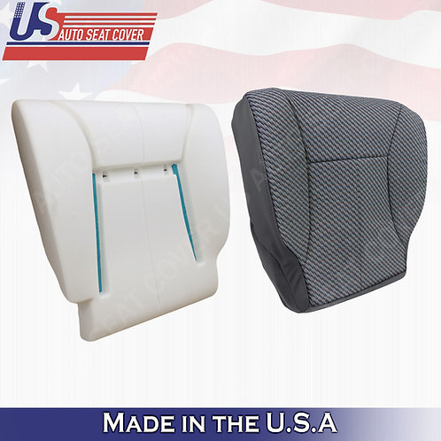 1998-2002 Dodge Ram  DRIVER BOTTOM CLOTH DK GRAY+ FOAM CUSHION