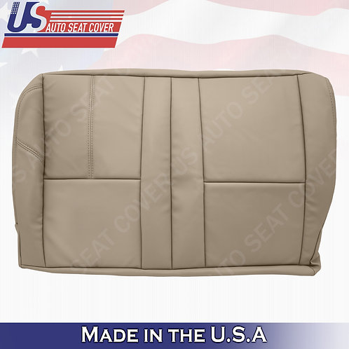 1999-2002 Chevy rear 60/40 split bench bottom seat cover in shale