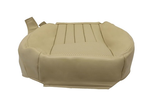 2005 2006 Lincoln Navigator Driver & Passenger Bottom Leather Seat Cover Tan