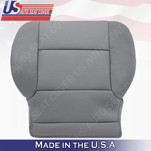 2014- 2018 Chevy Silverado 1500 Passenger Bottom Cloth Seat Cover Ash Gray