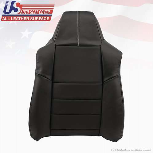 2008 2009 2010 Ford F250 F350 Passenger Seat Cover in Black Leather