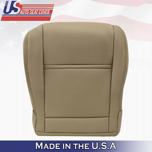 1990 - 1997 Front Driver Bottom Tan Leather Seat Cover Fits Toyota Land Cruiser​