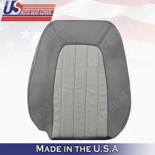 2002 - 2005 Mercury Mountaineer Driver top Leather Seat 2tone gray