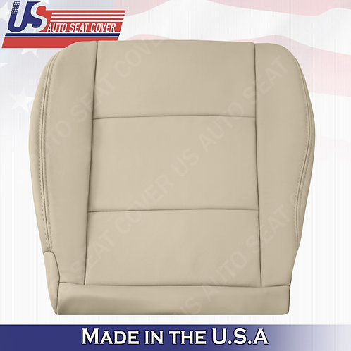 1998-2004 Toyota Land Cruiser Driver Bottom Leather Seat Cover in Tan