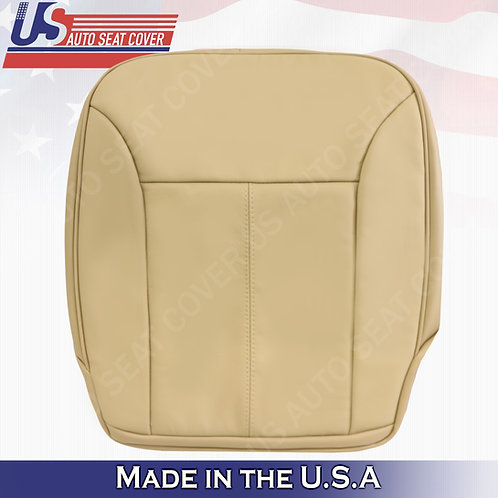 For 2007-2012 Mercedes Benz GL350 Passenger Bottom Leather Cover Tan