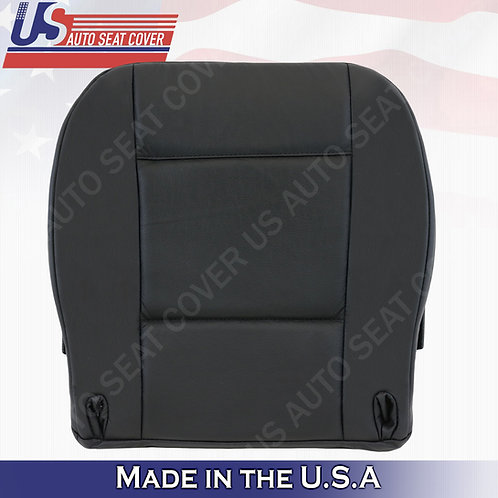 For 2003 to 2006 BMW X5 Passenger Bottom Leather Seat Cover Black