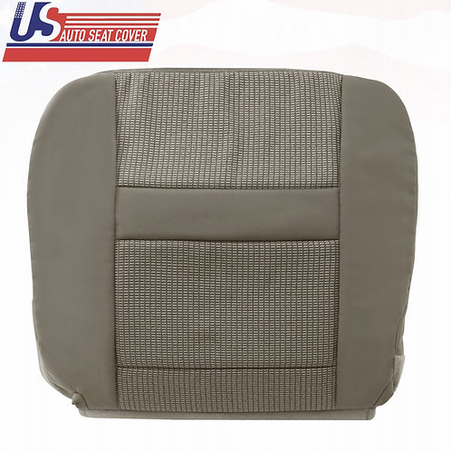 2006-2010 Dodge Ram 2500 3500 Driver Bottom Cloth Seat Cover in Khaki