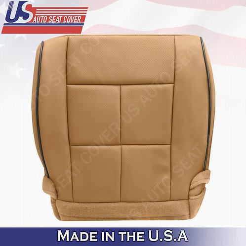 2011-2014 Lincoln Navigator Passenger Bottom Synthetic Leather Cover Canyon Tan
