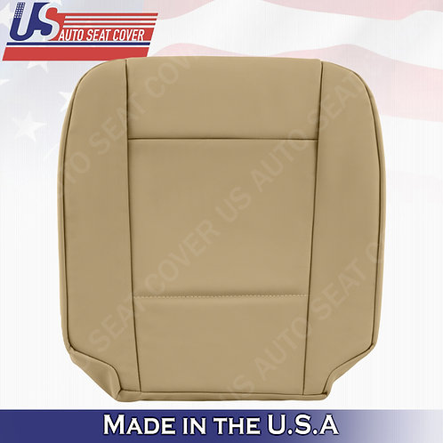 FITS 2002-2006 BMW 5 Series Driver Bottom Leather Seat Cover in Beige