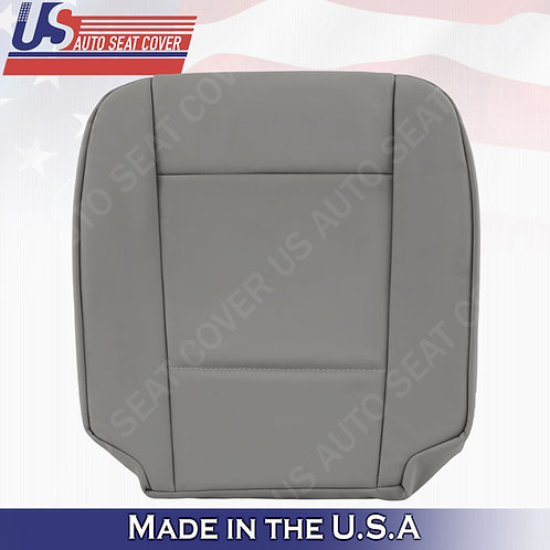 For 2002 to 2006 BMW 5 Series Driver Bottom Leather Seat Cover Gray