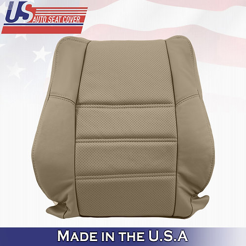 2001 to 2004 Nissan Pathfinder PASSENGER Top Perforated Leather Cover TAN