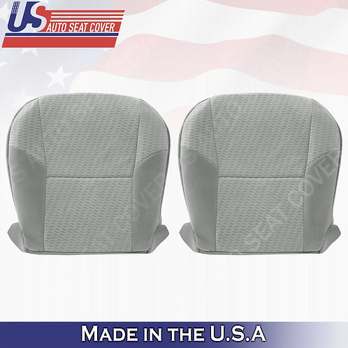 Fits 2009-2011 Toyota Tacoma Driver & Passenger Bottom Cloth Seat cover gray