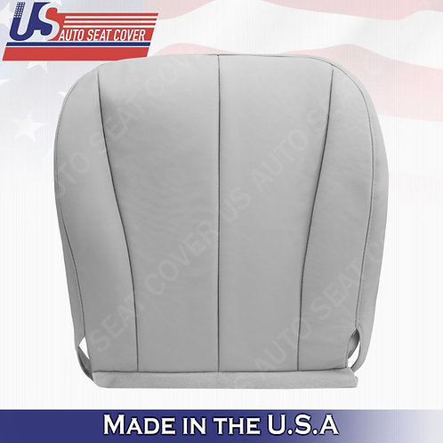 For 2007-2011 Toyota Camry Driver Bottom Leather Seat Cover Gray