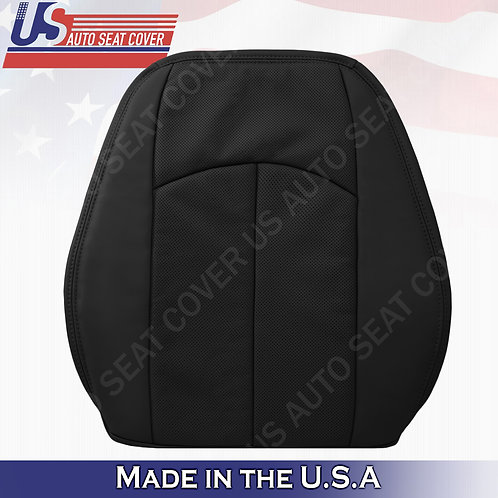 For 2003-2009 Mercedes-Benz E350 Driver Top Perforated Leather Seat Cover Black