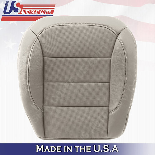 For 2012-2015 Mercedes Benz ML250 ML350 Driver Bottom Perf. Leather Cover Gray