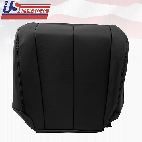 2003 to 2007 Driver Bottom Leather Seat Cover Fits Nissan Murano Black