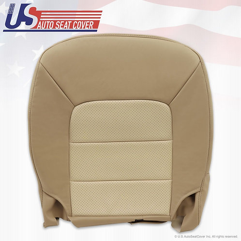 2003-2006 Ford Expedition Passenger Bottom vinyl Seat Cover 2tone perf