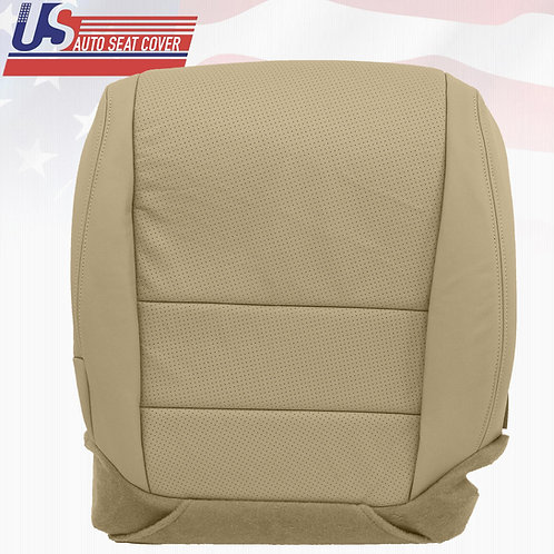 2004 2005 2006 Acura TL Driver side bottom Perforated Leather Seat Cover Tan