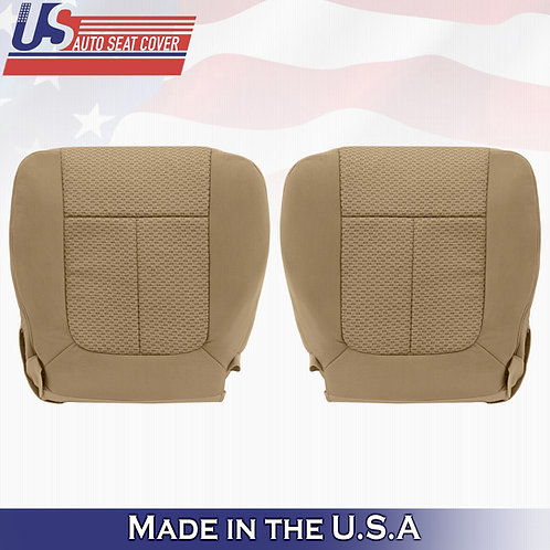 2009-2010 Ford F150 XTR FX4 FX2 DRIVER PASSENGER Bottom Cloth Seat cover inTAN